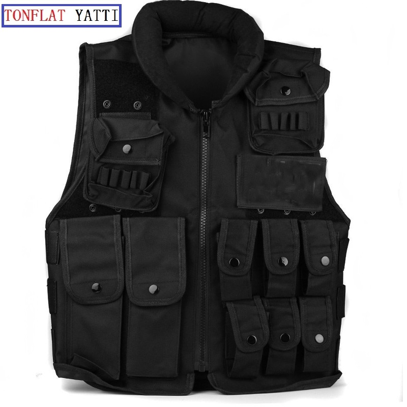 Colete Tatico Balistico Swatt Paintball Airsoft 15%Off CS Airsoft Game Tactical Military Combat Traning Protective Security Vest men s army tactical vest tactical airsoft paintball combat vest molle survival game armor men military vest outdoor cs jacket