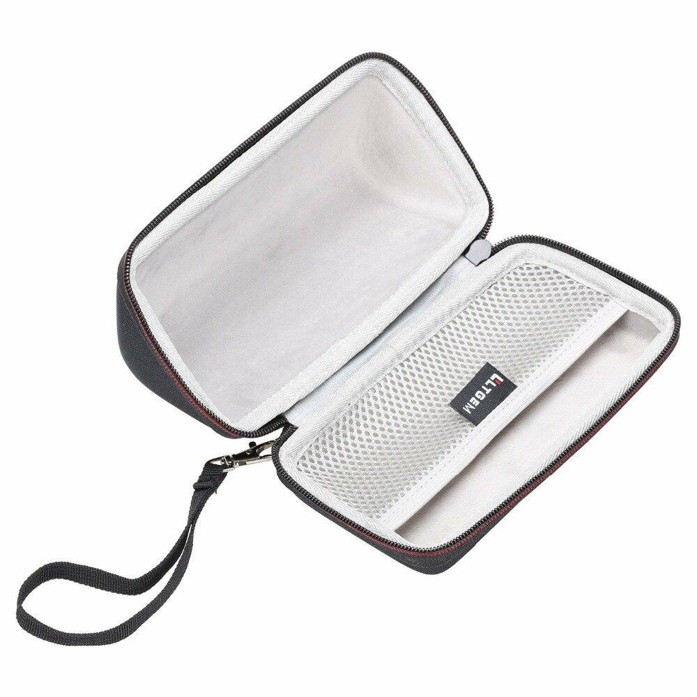 LTGEM Hard EVA Travel Carrying Case For OontZ Angle 3 ULTRA/PLUS Edition Portable Bluetooth Speaker