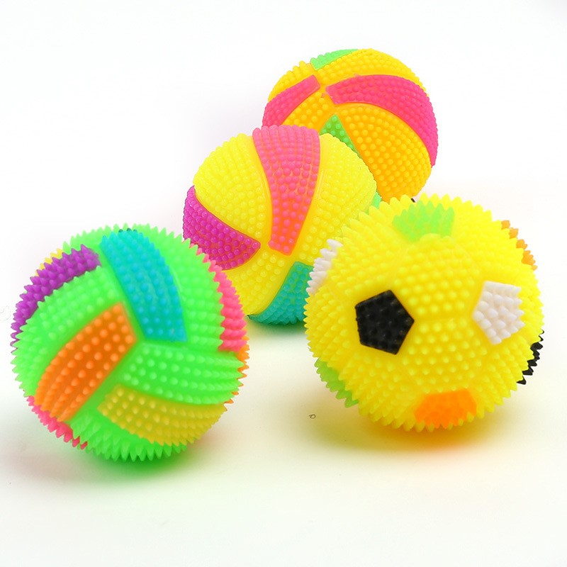 Diameter 7cm Rubber Dog Toy For Puppy Tooth Chew Training ...