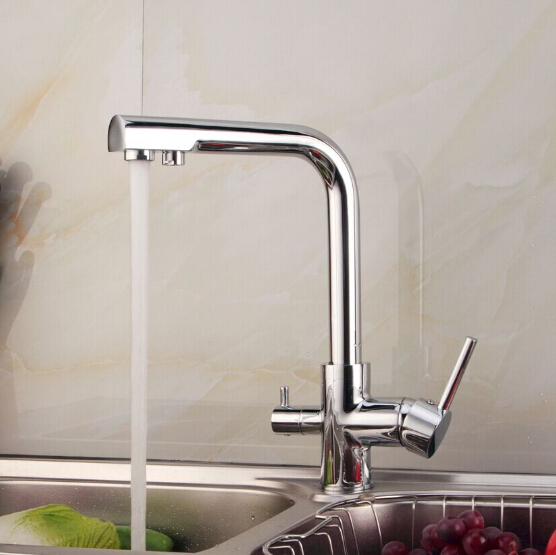 2015 Double function kitchen mixer faucet 3 way kitchen faucet sink mixer water kitchen dinking faucet three way sink mixer tap 2015 double function kitchen faucet 3 way kitchen faucet sink mixer water kitchen dinking faucet three way sink mixer tap