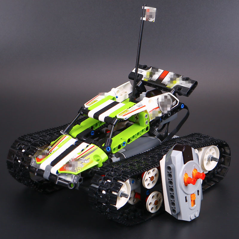 New Lepin 20033 Technic Series The RC Track Remote-control Race Car Set Building Blocks Bricks Educational Children 42065 Toys rc pozen the mutual fund business complete video series set 1 2