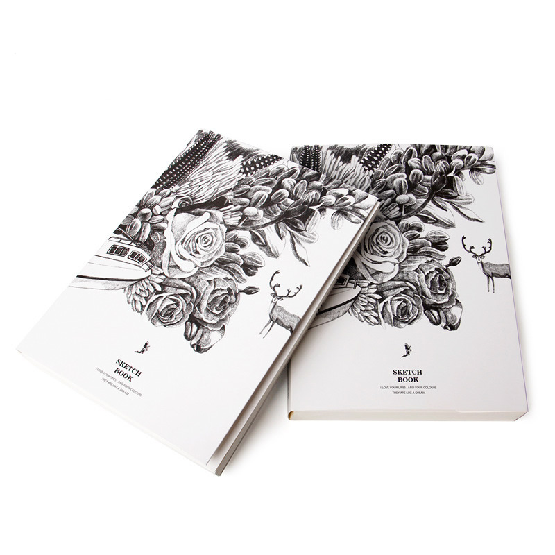 2017 Diary Paiting Sketchbook A4 Notebook Drawing DIY Sketch Book Blank Paper For Christmas Gift Girls Kids Student Stationery kicute 1pc art thick blank paper sketchbook drawing book for drawing painting sketch scrawl student stationery pattern random