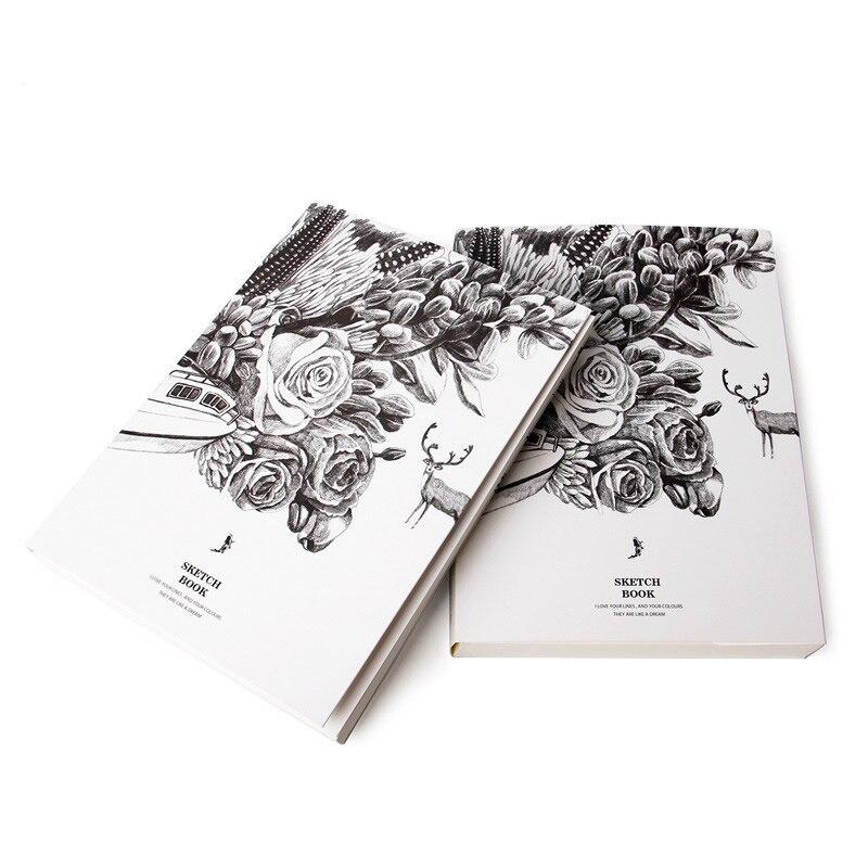 2017 Diary Paiting Sketchbook A4 Notebook Drawing DIY Sketchs