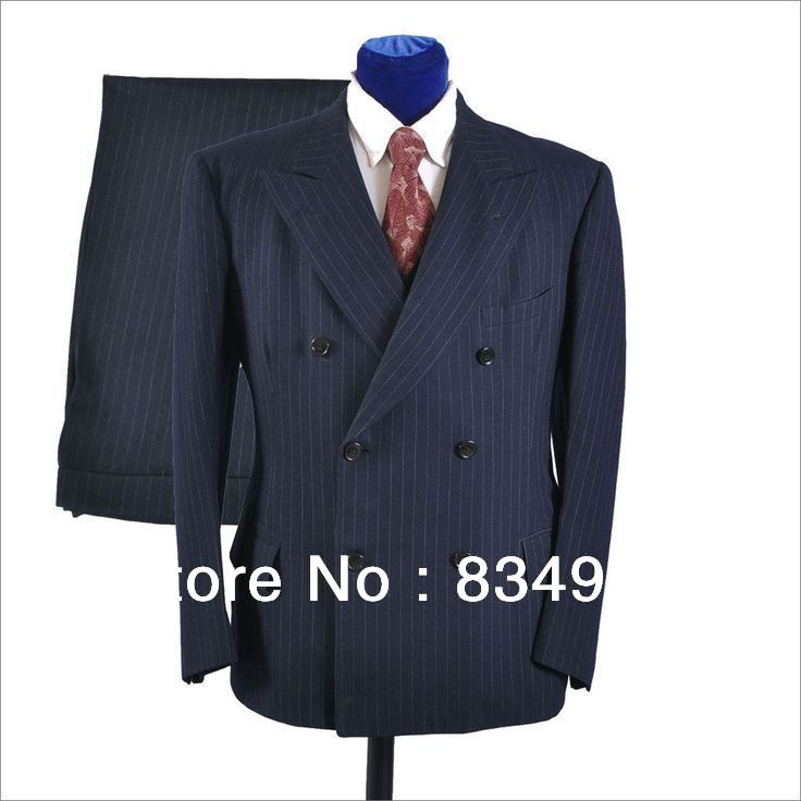 Custom MADE TO MEASURE men suit,BESPOKE DOUBLE BREASTED ...