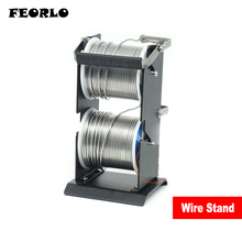FEORLO SY-227-2 Tin Solder Wire Rack Line Frame Seat All Metal Double Welding Bracket Hand Tool Sets