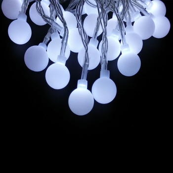 Online shop 10m 100 led globe string lights warm whitewhite ball yiyang 30m 300 led ball string christmas lights holiday party wedding decoration garland lamps indoor outdoor mozeypictures Choice Image