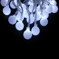 YIYANG 30m 300 LED Ball String Christmas Lights Holiday Party Wedding Decoration Garland Lamps Indoor Outdoor