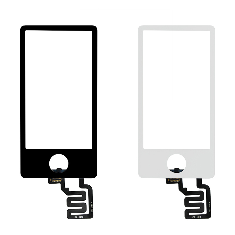 Cep telefonları ve Telekomünikasyon Ürünleri'ten Cep Telefonu Dokunmatik Paneli'de IPod Nano 7th Nesil dokunmatik ekran digitizer paneli yedek parça iPod Nano 7 Için Dokunmatik panel ekran title=