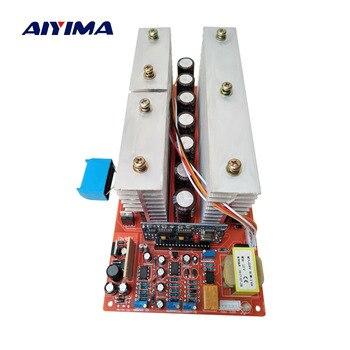 AIYIMA чистая Синусоидальная волна частота инверторный блок питания DC 24 в 36 в 48 в 60 в до 220 В высокой мощности 6000 Вт схема Главная модель инверто...