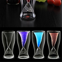 Creative Double Wall Mermaid Glasses Beer Mug Creative Fishtail Cup Beauty Glassware