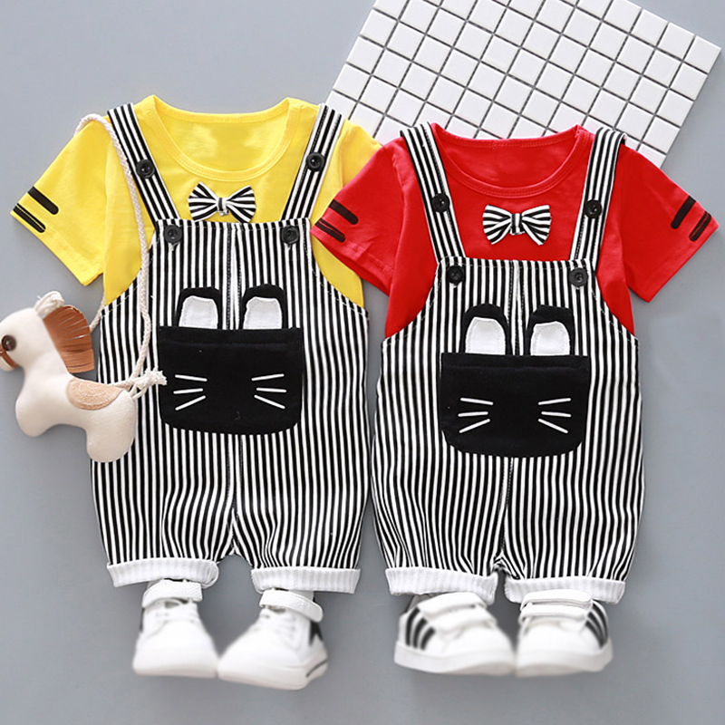 Baby Boy Clothing Set Summer Newborn Boys Short Sleeves T Shirt+Pant Suit 2pcs Baby Boy Clothes summer 2017 newborn baby boy clothes short sleeve cotton t shirt tops geometric pant 2pcs outfit toddler baby girl clothing set
