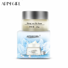 APINKGIRL Whitening Freckle Cream Melasma Anti Dark Spot Remover मुँहासे वर्णक Melanin Speckle Blemish Face Care Cream 25g निकालें