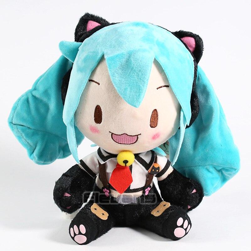 Vocaloid Hatsune Miku Plush Toy Soft Stuffed Doll Gift 24cm hatsune miku winter plush doll