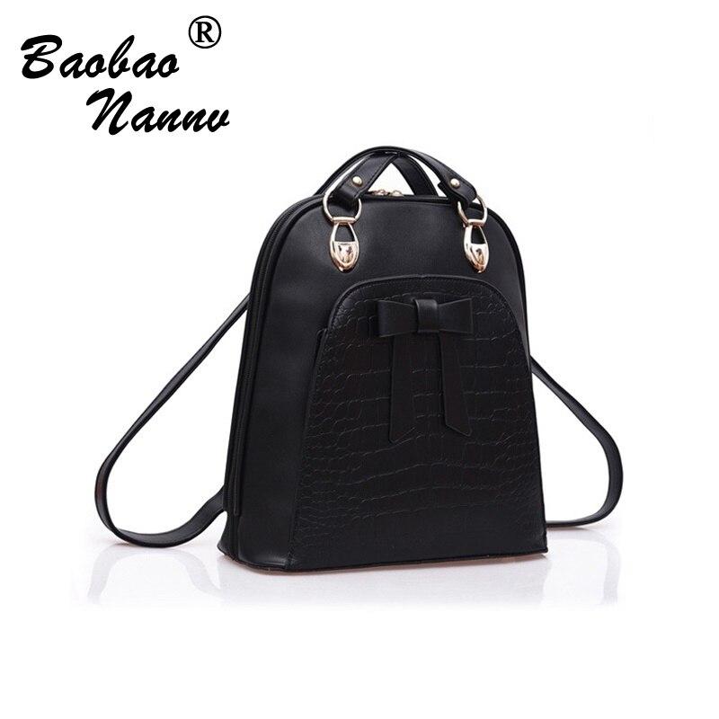 2017 Designer Women PU Leather Backpacks School Bags For Teenagers Girls Female Bagpack Mochila Feminina Bags