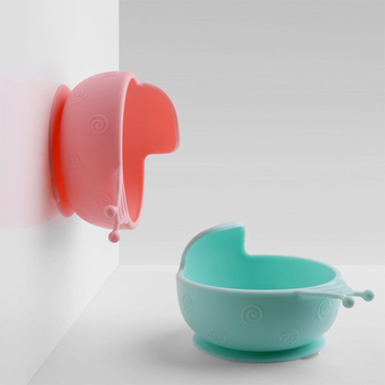 Suction Plate for Babies - Non Slip Snail Bowl