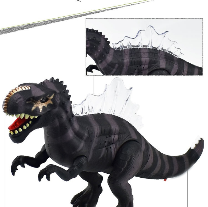 modelo spinosaurus Simulação crianças brinquedos Educativos