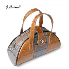 J.Quinn Ladys Small Shell Shoulder Tote Bags Genuine Leather High Quality Womens Handbags Causal Female Party Crossbody Bag