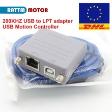 New 200KHZ RTM200 USB converter MOTION CONTROLLER USB to LPT adapter USB CNC controller for Mach3