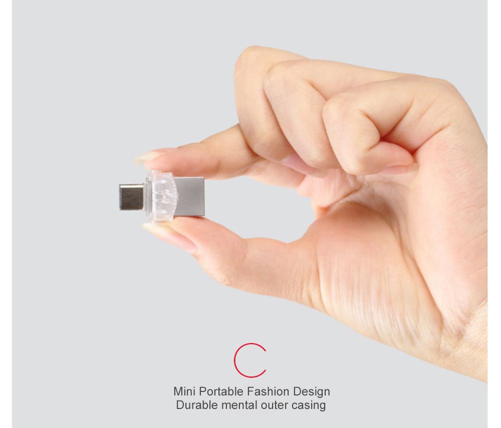 Kingston USB Flash Drive 64GB 32GB 16GB USB 3.1 Type-C Pendrive USB 3.0 Pen Drive Memory Stick for PC  Phone with Type-C Port (14)