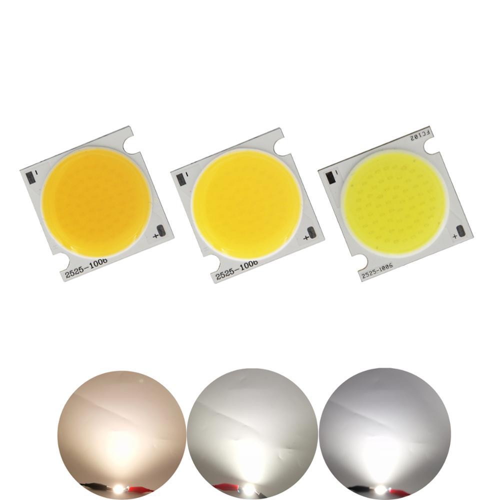 allcob manufacturer 25x25mm High lumen Squre Flip chip LED COB Strip Light Source Module 20W 30W bulb lamp for downlight