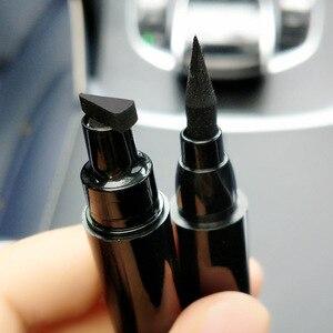 Image 5 - Große/Kleine Eyeliner Stempel Kosmetik Flüssigkeit Wasserdicht Eye Liner Stift Eyeliner mit Marker Pfeile Schablone Liner Bleistift für Augen