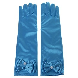 KLV Kids Long Gloves Bow...