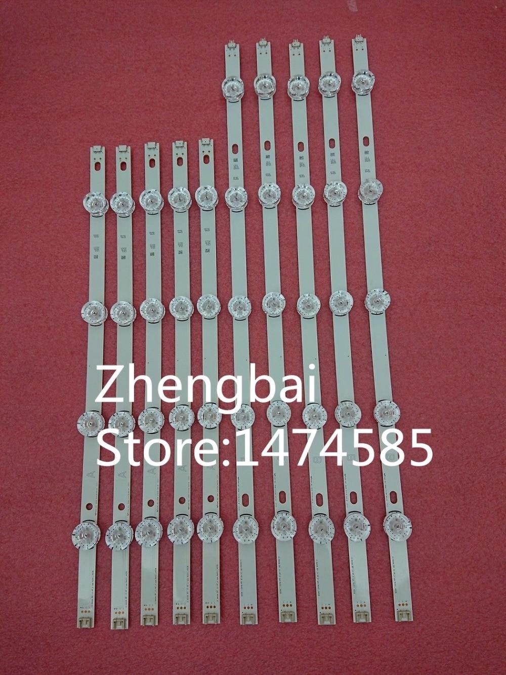 100%New 10 PCS/set LED Backlight strip For LG 49Inch TV 49LB5550 49LF5500 Innotek DRT 3.0 49A/B 6916L-1944A 6916L-1945A