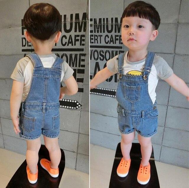 3f0478f9d 2016 New Design Kids Denim Overall Shorts for Boys Girls High Quality  Children Summer Jeans Jumpsuit Denim Overalls Clothing