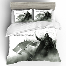 Game Of Thrones Duvet Cover Bedding Sets Queen Size Set Pillowcases Skull Bed Linen Home Textile Bedclothes Dropshipping