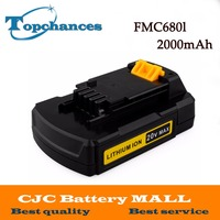 High Quality Newest 20V Max 2000mAh Lithium Ion Replacement Power Tool Battery For Stanley FMC680L