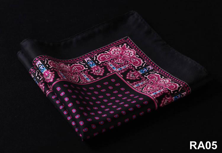 RA05 HN09L Black Hot Pink floral 35cm