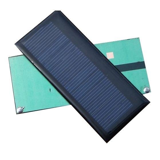 10pcs 0.3W 5.5V 55mA Mini Solar Panel Module System Solar Epoxy Charger DIY