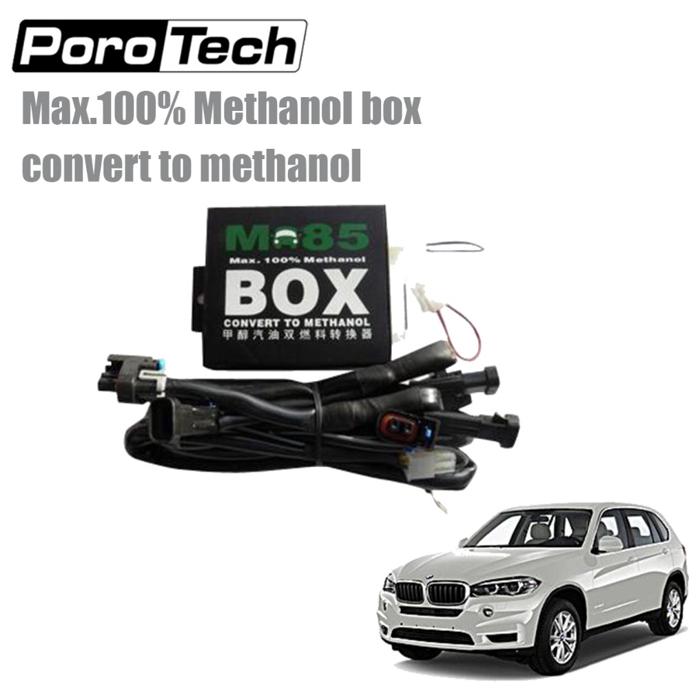 6CYL Methanol Kit M85 Compatible Gasoline Vehicles Methanol Conversion System Support Extremely Cold Winter Engine Starting