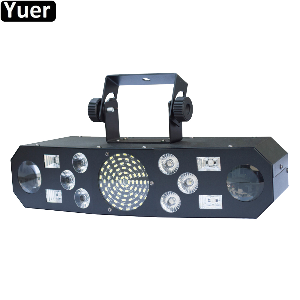 New LED 5IN1 Pattern RGBW Laser Projector Stage Decorations Laser Disco Light Laser Music Light DJ Disco Xmas Party Club Light