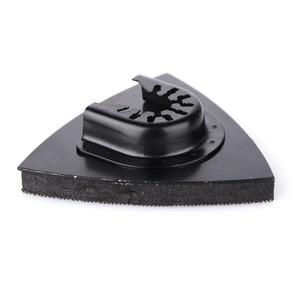 Image 2 - 1Pcs 80Mm Multitool Blades Sanding Pad Reciprocating Saw Blade Flush Triangular Oscillating For Home Power Tool Fein Multimaste