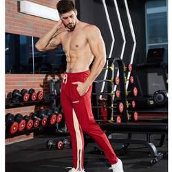 2019 новые мужские зимние штаны для велоспорта длинные брюки костюм Фитнес тренировки спортивные штаны пот Штаны тренажерный зал одежда
