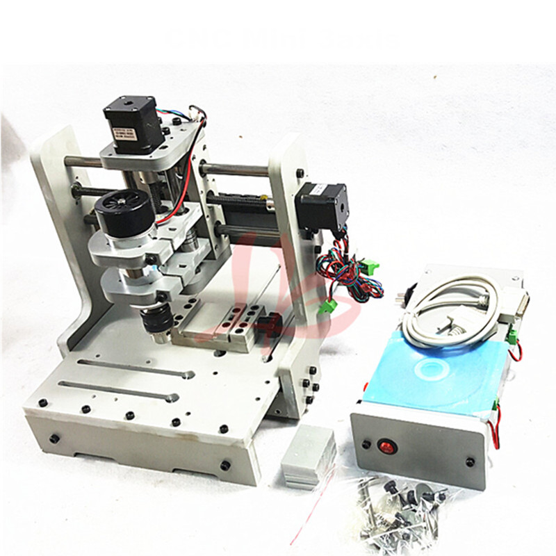 New LY DIY mini CNC 3 axis milling machine mini CNC router price free tax to RU EU cheap price mini cnc router 2520t 3 axis 200w spindle for new user or school tranining
