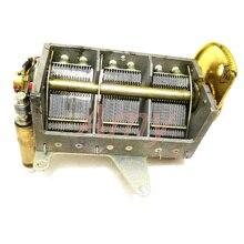 Novo 20pf 320pf sobre engrenagem de ajuste de correia de capacitância variável