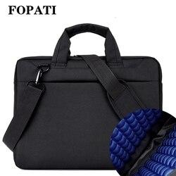 Сумка для ноутбука 17,3 17 15,6 14 12 дюймов нейлоновая подушка безопасности сумка через плечо компьютерные сумки водонепроницаемая сумка-мессенд...