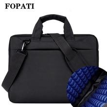Laptop bag case 17.3 17 15.6 14 12 inch Nylon airbag shoulder handbag computer bags Waterproof Messenger Women men  Notebook bag все цены