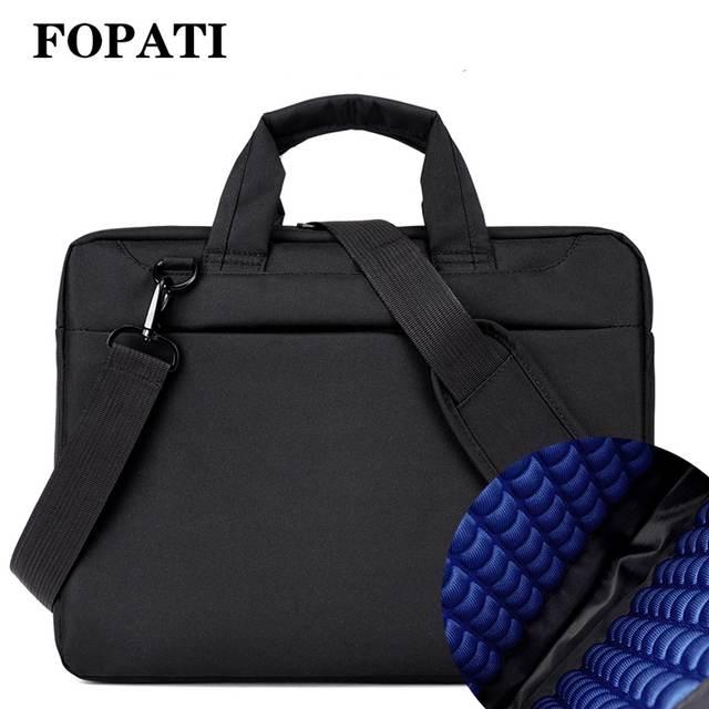 Laptop bag 17.3 17 15.6 14 12 inch Nylon airbag shoulder handbag computer  bags Waterproof Messenger 0a15c1a26e