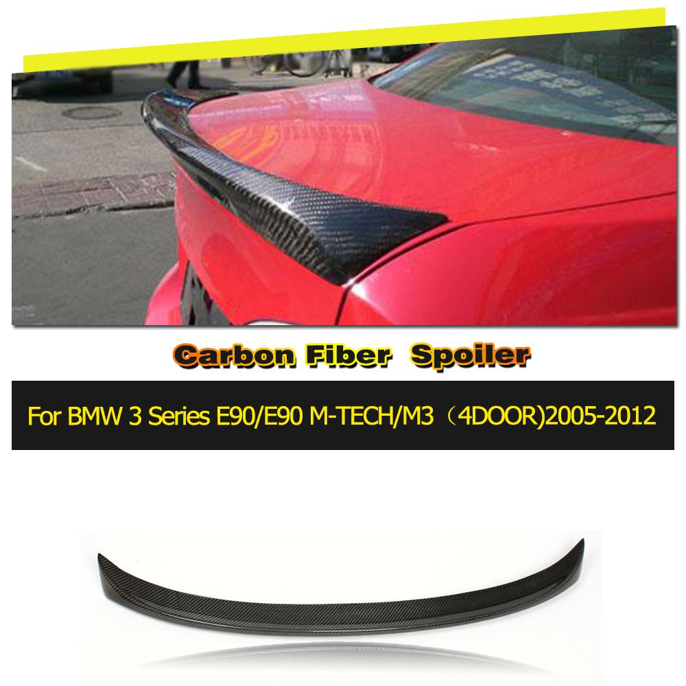 Auto-Styling spoiler posteriore in carbonio lip wings for BMW Serie 3 330i 335i E90 M sport 2005-2008