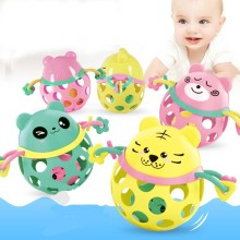 Baby Rattle Intelligence Hand Grab Ball Toy Animal Soft Gum Tooth Ring  Baby 0-12 Months Sound Soft Infant Baby Toys