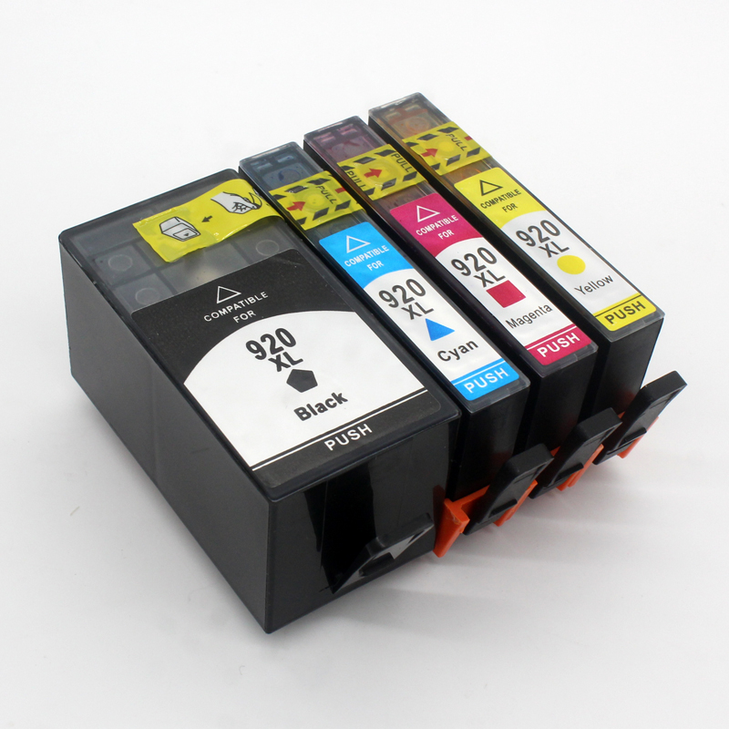 1 Set For Hp 920 For Hp 920xl Ink Cartridge Officejet 6000