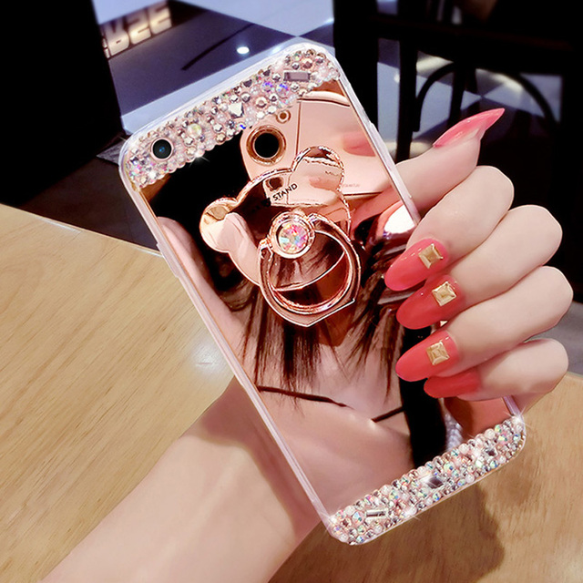 mirrored iphone 8 case