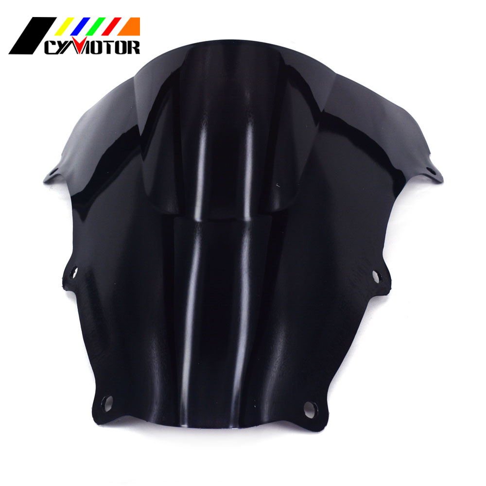 Motorcycle Black <font><b>Windshield</b></font> Fairing Windscreen For <font><b>SUZUKI</b></font> <font><b>SV650</b></font> SV650S SV1000 SV1000S 2003 2004 2005 2006 2007 2008 09 10 11 12 image
