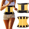 *USPS* 3 Colors M-XL Unisex Breathable Thin Xtreme Power Belt Hot Slimming Thermo Shaper Waist Shaper Cincher Waist Trainer