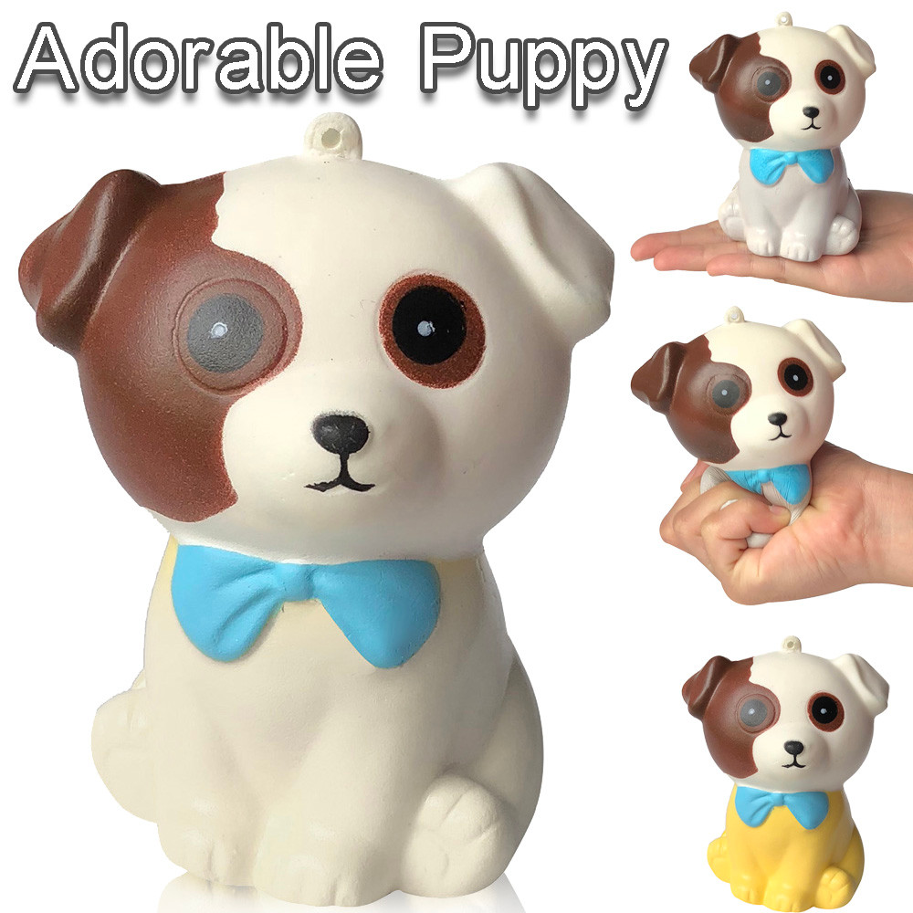 Squishy Slow Rising Squeeze Kid Toy Squishy Soft Adorable Puppy Slow Rising Cream Squeeze Scented Stress Relief Toys