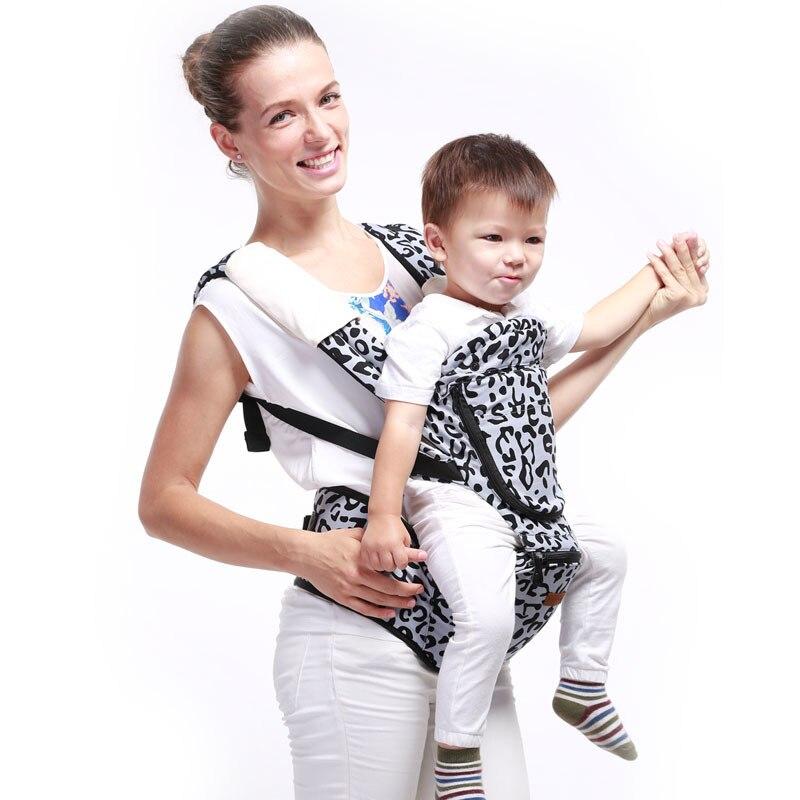 2016 Carrier Baby Carrier holding infant waist shoulder belt, waist baby babies stool, classic zebra spot ergo baby carrier performance