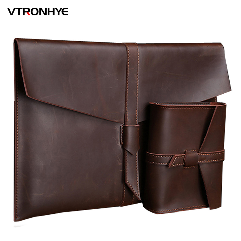 VTRONHYE 11.6 13.3 15.4 Laptop Sleeve Bag for Macbook Air Pro Retina 11 13 15 Luxury Notebook Bag for Macbook Pro 13 2016 case 2017 newest hot sleeve case bag for macbook laptop air 11 12 13 pro retina 13 3 protecter wholesales drop free shipping